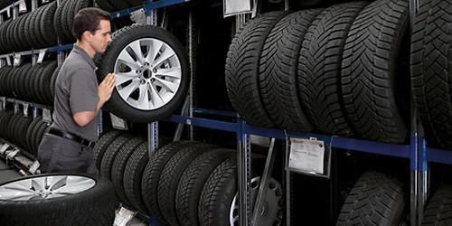 Seasonal Tire Storage