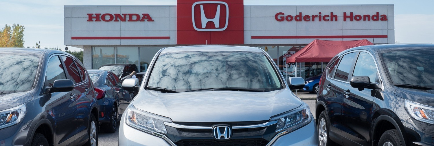 Honda dealership in Goderich, Huron County