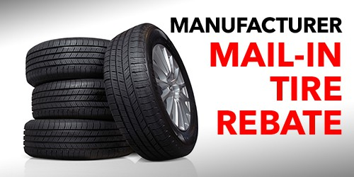 Mail in Tire Rebates