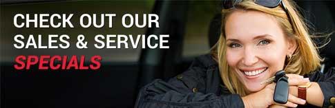 Sales & Service Specials