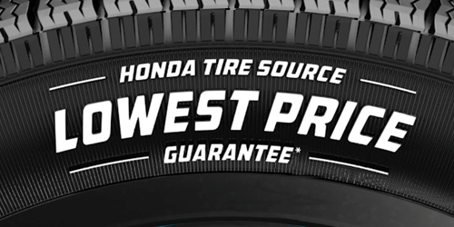 Honda Tire Source–Lowest Price Guarantee!