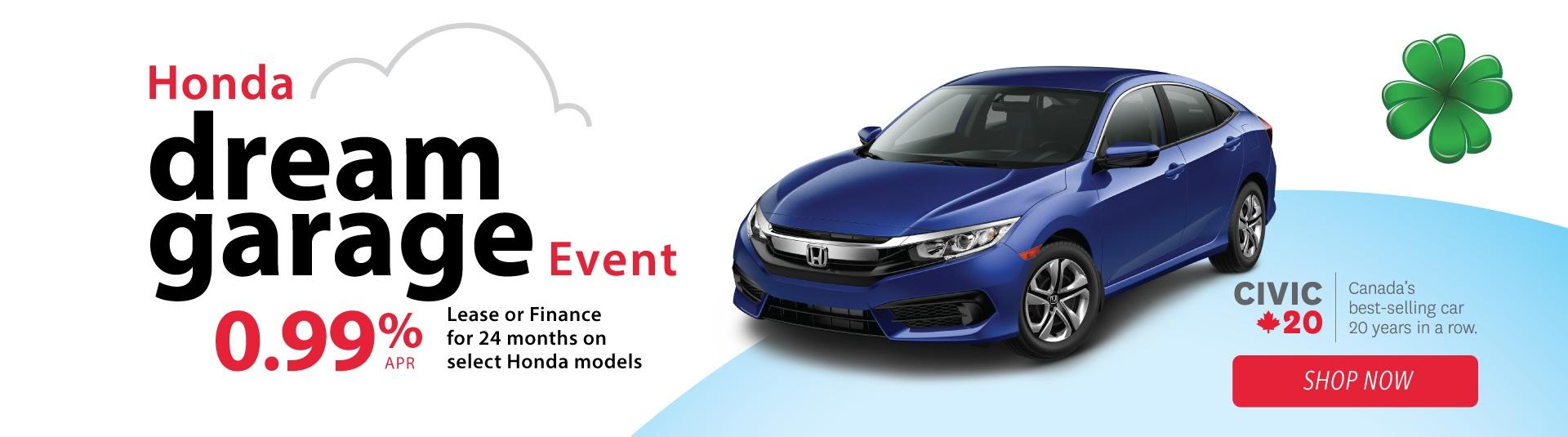2018 Honda Civic LX on Sale for Dream Garage Event