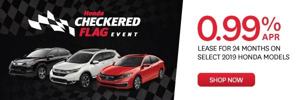 Checkered Flag Event Honda Goderich