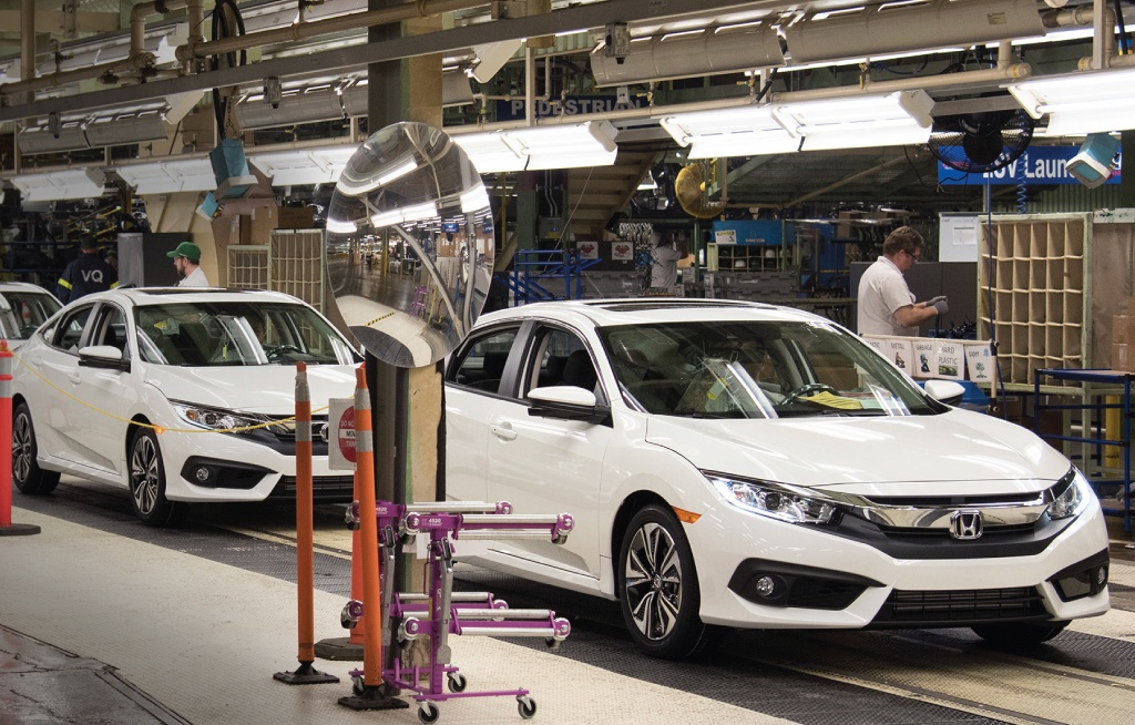 When Honda Arrived In Canada - Manufacturing Plant - Orangeville Honda