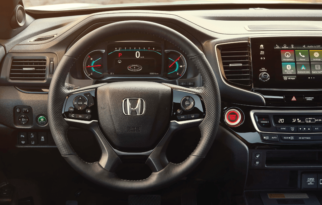 Exciting Features of the 2019 Honda Passport Interior