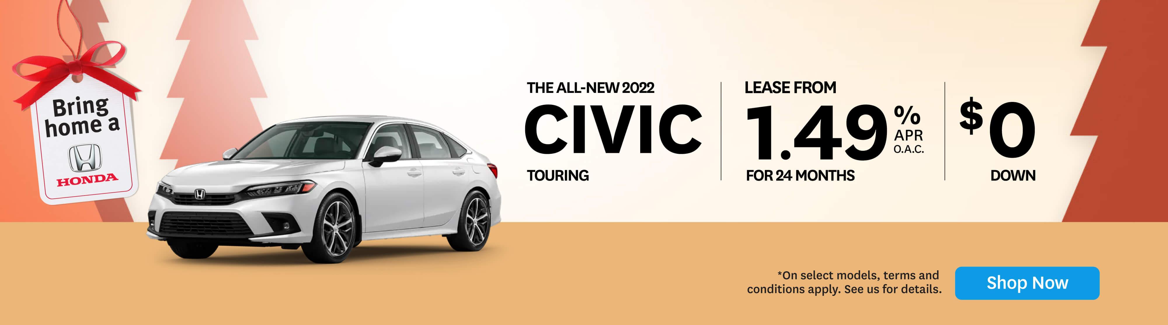 The 2022 All-New Honda Civic