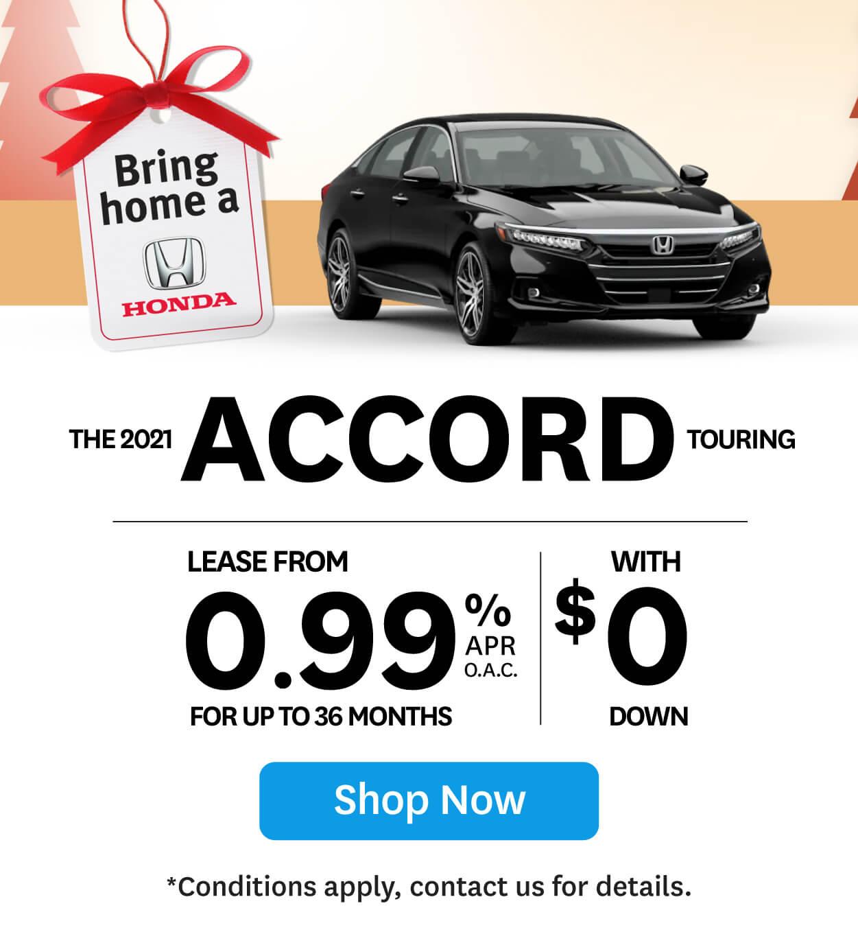 Bring Home Honda Accord